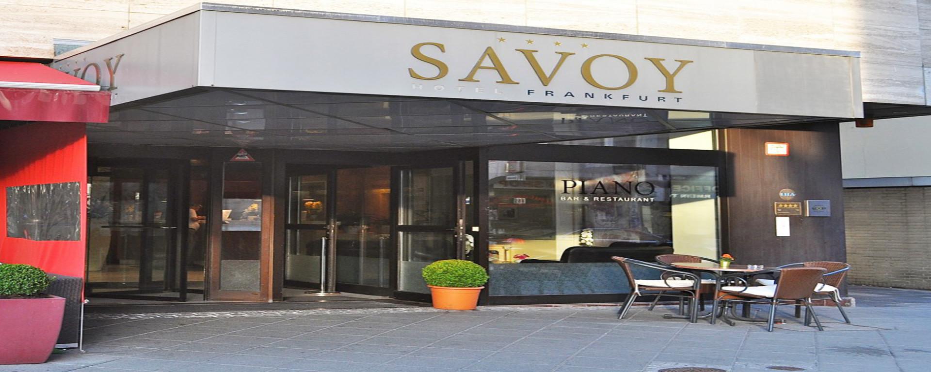 First Class Savoy Hotel Frankfurt Am Main Herzlich Willkommen